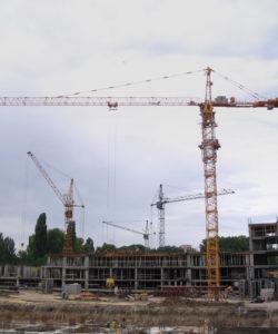 Производство башенных кранов в Москве