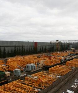 Продажа башенных кранов в Москве и России по цене производителя