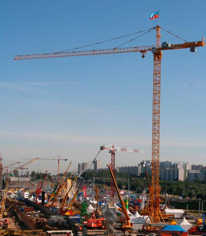 Башенный кран КБ-571Б купить в Москве